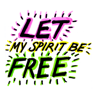 Let My Spirit Be Free by lunchboxbrain