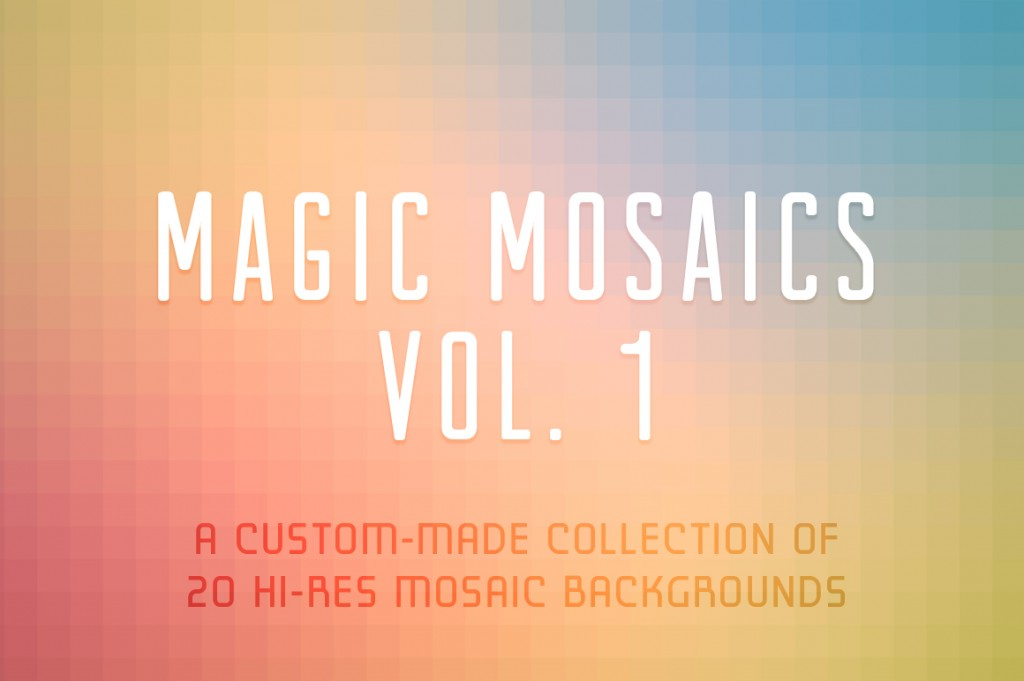 Lunchboxbrain's Magic Mosaics Vol. 1