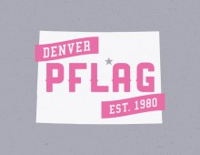 T-Shirt Designs for PFLAG Denver