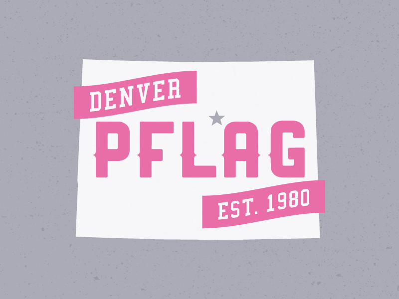 PFLAG Denver shirt design by lunchboxbrain