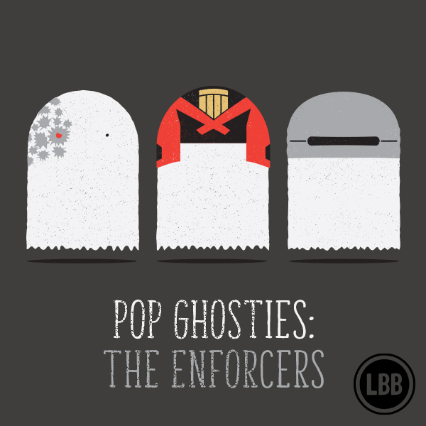 Pop Ghosties - The Enforcers by lunchboxbrain