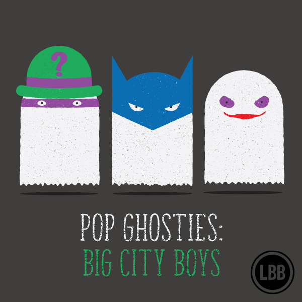 Pop Ghosties - Big City Boys by lunchboxbrain