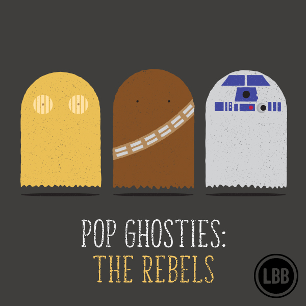 Pop Ghosties - The Rebels by lunchboxbrain