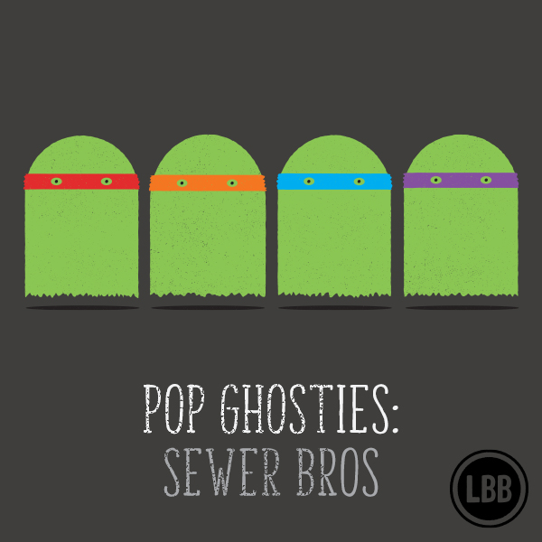Pop Ghosties - Sewer Bros. by lunchboxbrain