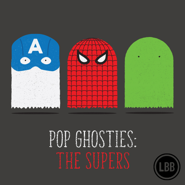 Pop Ghosties - The Supers by lunchboxbrain